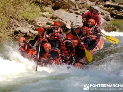 Rafting Noguera Pallaresa - Parque Nacional de Aigüestortes y Lago San Mauricio; excursiones de un